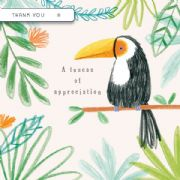 Toucan of Appreciation Thank You Card